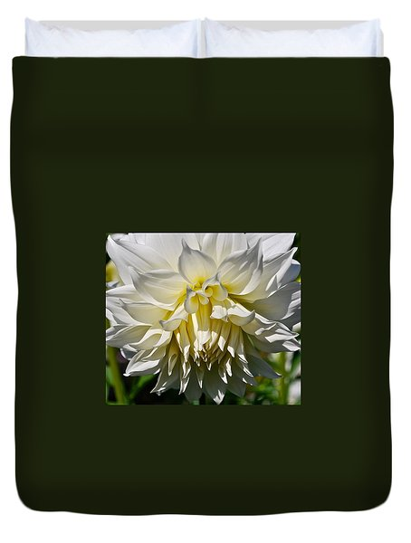 Graceful Dahlia  Duvet Cover