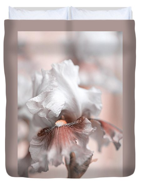 Duvet Cover featuring the photograph Graceful Dream by Jenny Rainbow