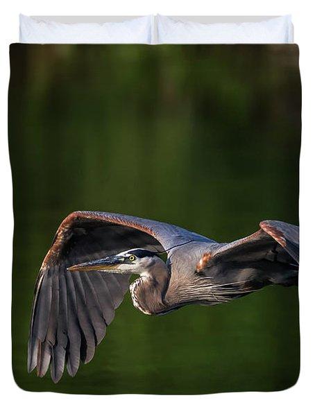 Graceful Flight Duvet Cover