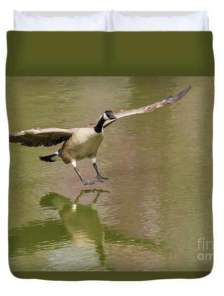 Graceful Goose Duvet Cover