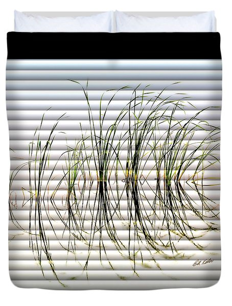 Graceful Grass - The Slat Collection Duvet Cover
