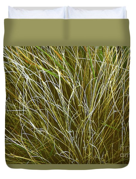 Graceful Grasses Duvet Cover