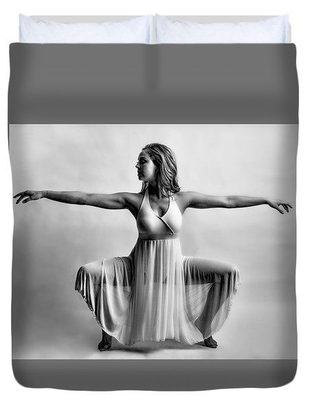 Graceful Legs Duvet Cover
