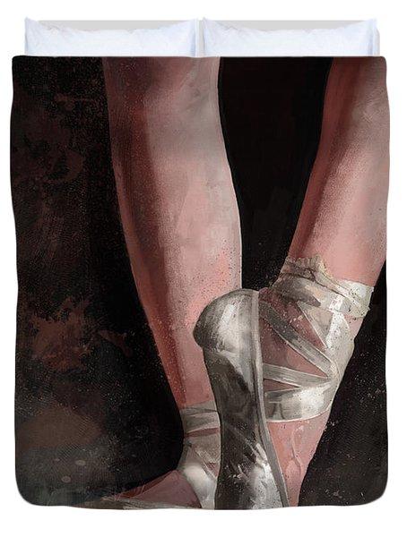 Graceful Slippers Duvet Cover