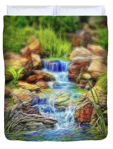Graceful Waters Duvet Cover