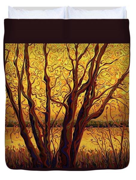 Gracious Golden Passage Gala Duvet Cover