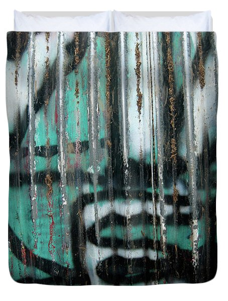 Graffiti Abstract 2 Duvet Cover