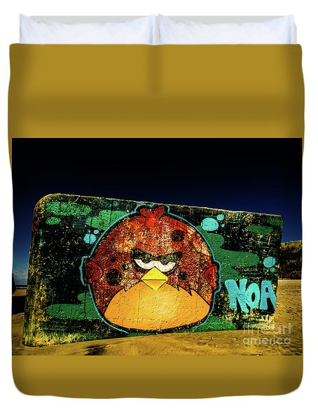 Graffiti_01 Duvet Cover