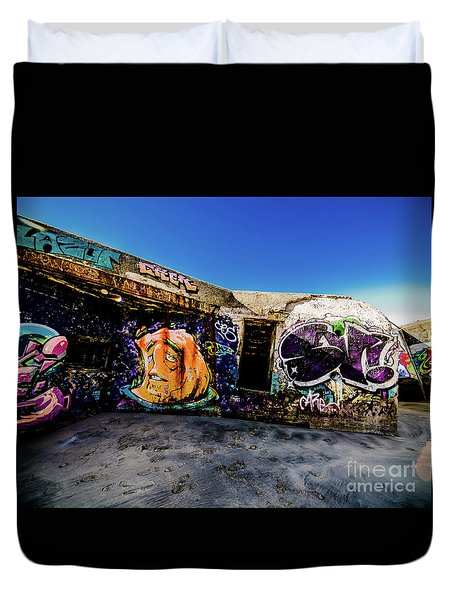 Graffiti_03 Duvet Cover