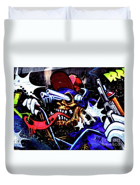 Graffiti_05 Duvet Cover