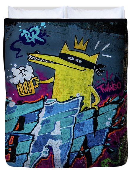 Graffiti_10 Duvet Cover