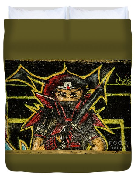 Graffiti_16 Duvet Cover
