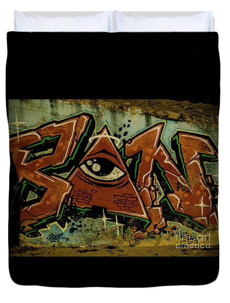 Graffiti_17 Duvet Cover