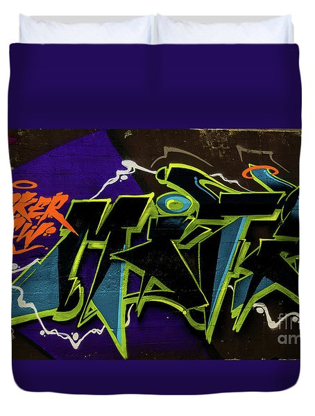 Graffiti_18 Duvet Cover