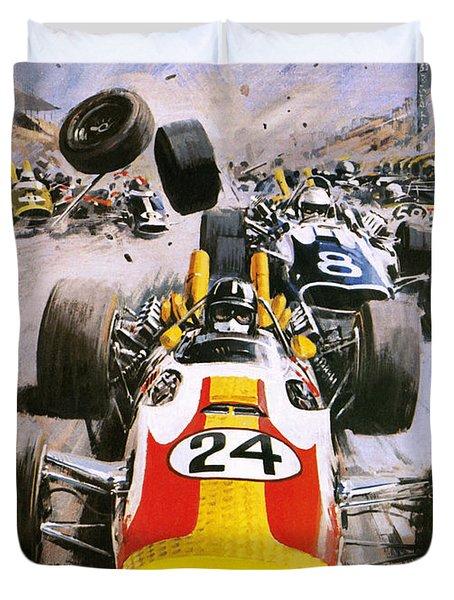 Graham Hill Duvet Cover