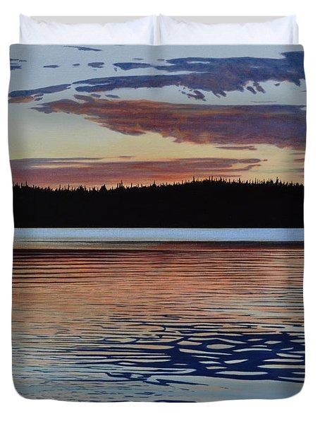 Graham Lake Duvet Cover
