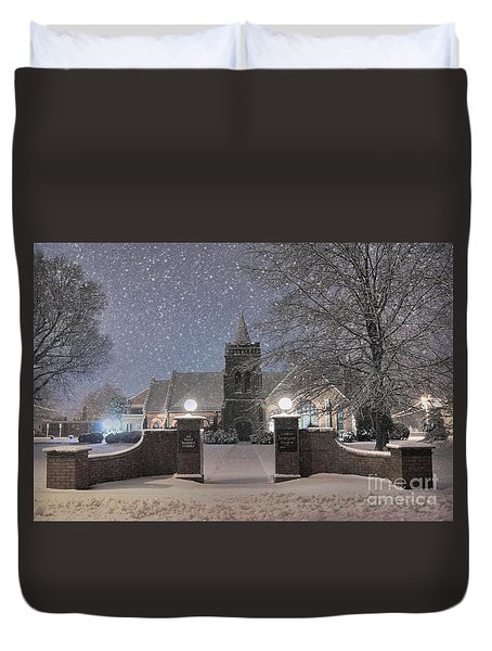 Graham Presbyterian Church Duvet Cover