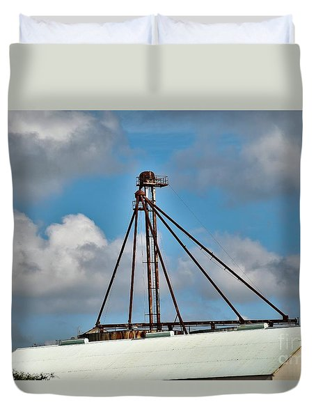 Duvet Cover featuring the photograph Grain Is Life ...  by Ray Shrewsberry