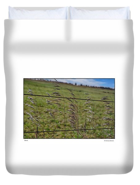 Duvet Cover featuring the photograph Grain by R Thomas Berner