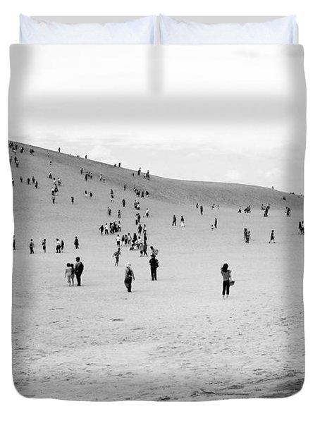 Grains Of Sand Duvet Cover by Hayato Matsumoto