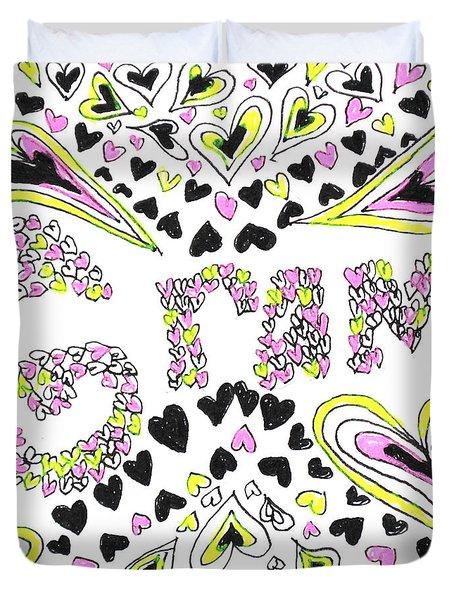 Gram Duvet Cover