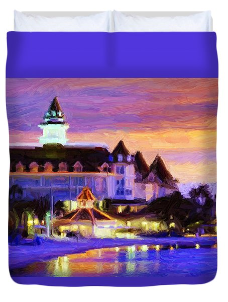 Grand Floridian Duvet Cover