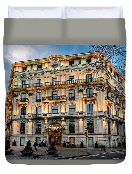 Gran Hotel Havana Duvet Cover by Randy Scherkenbach