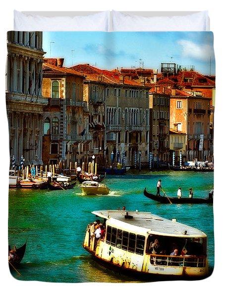 Grand Canal Daytime Duvet Cover