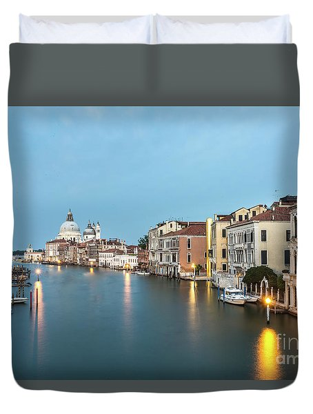 Grand Canal In Venice, Italy Duvet Cover