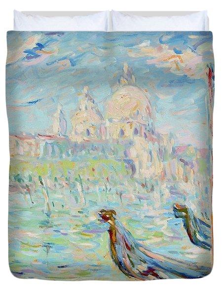 Grand Canal Venice Duvet Cover