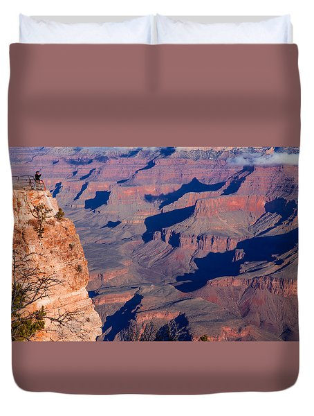 Duvet Cover featuring the photograph Grand Canyon 18 by Donna Corless