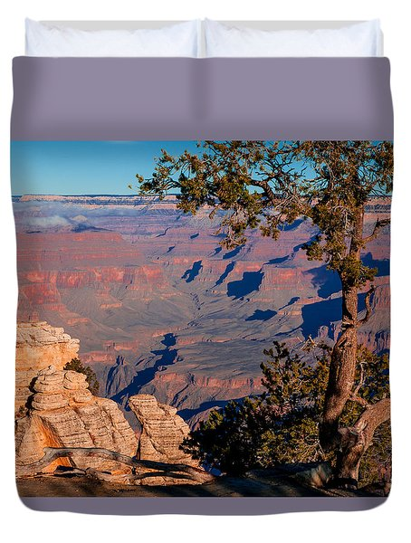 Duvet Cover featuring the photograph Grand Canyon 20 by Donna Corless