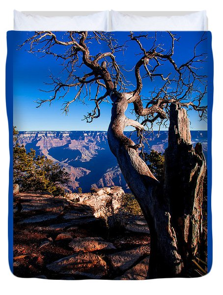Duvet Cover featuring the photograph Grand Canyon 27 by Donna Corless