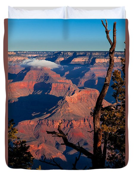 Duvet Cover featuring the photograph Grand Canyon 30 by Donna Corless
