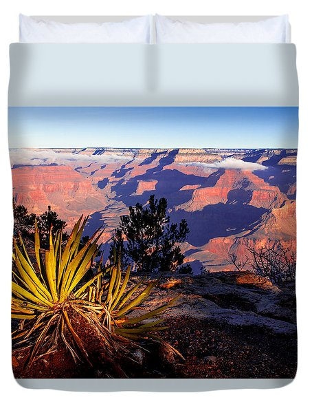 Duvet Cover featuring the photograph Grand Canyon 31 by Donna Corless