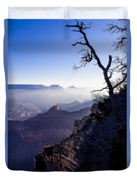 Duvet Cover featuring the photograph Grand Canyon 33 by Donna Corless
