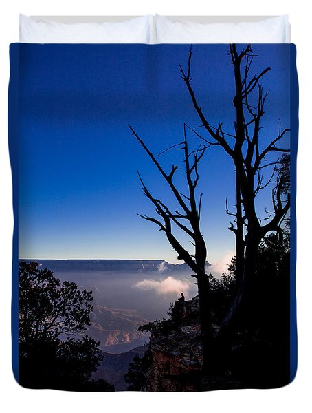 Duvet Cover featuring the photograph Grand Canyon 34 by Donna Corless