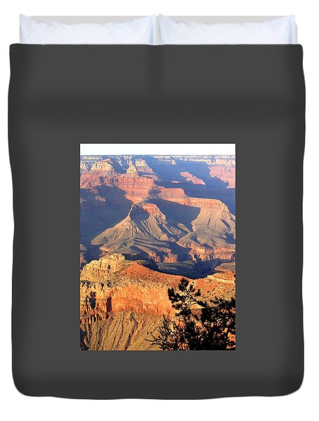 Grand Canyon 50 Duvet Cover by Will Borden