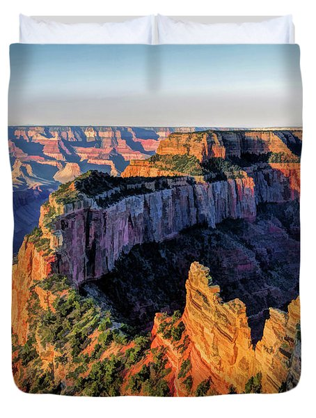 Grand Canyon Cape Royal Duvet Cover