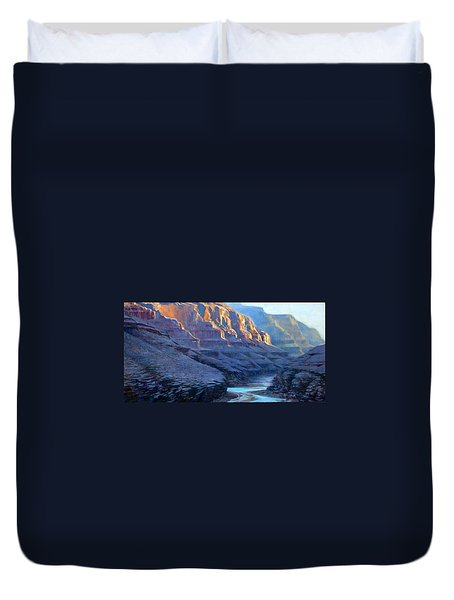 Grand Canyon Dawns Duvet Cover