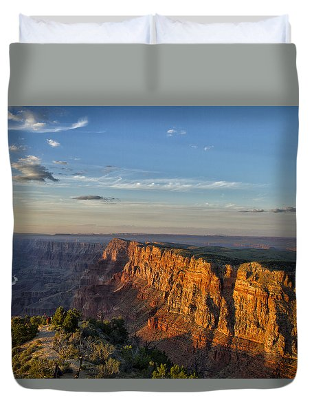 Duvet Cover featuring the photograph Grand Canyon Daze by Tom Kelly