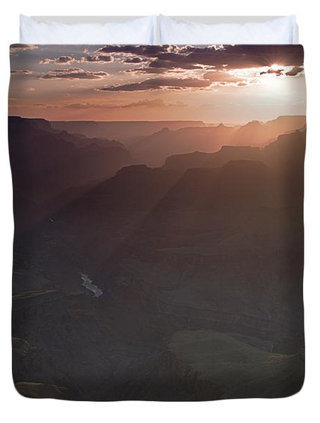 Grand Canyon Glow Duvet Cover