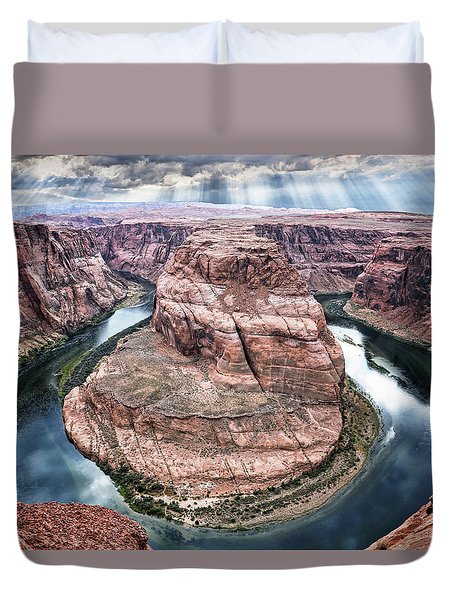 Grand Canyon Horseshoe Bend Duvet Cover