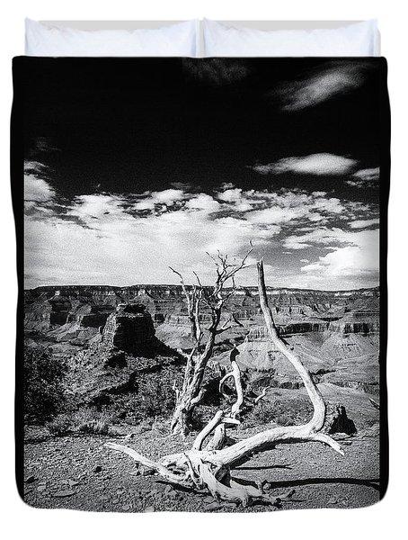 Grand Canyon Landscape Duvet Cover
