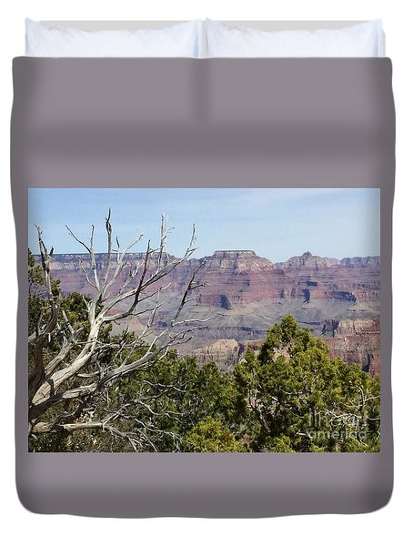 Grand Canyon National Park South Rim Duvet Cover