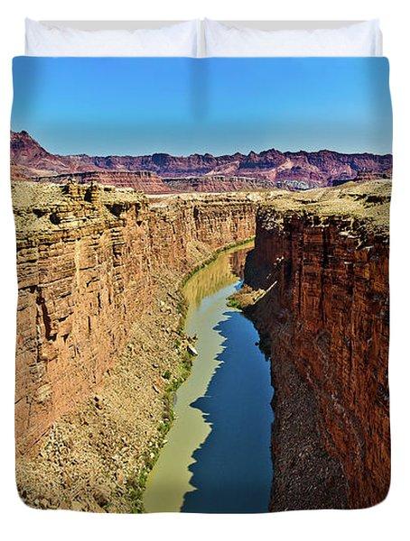 Grand Canyon National Park Colorado River Duvet Cover