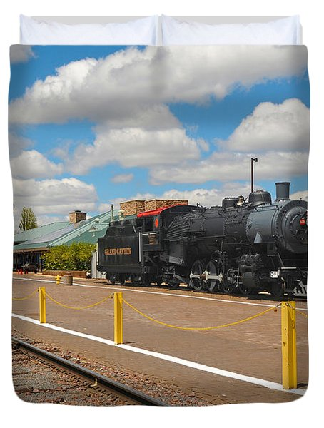 Grand Canyon Railway Duvet Cover