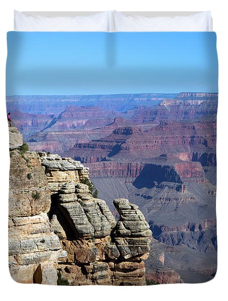 Grand Canyon South Rim Duvet Cover