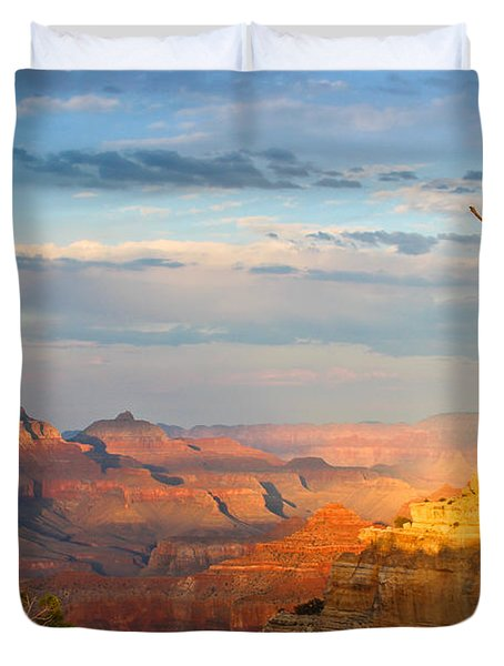 Grand Canyon Splendor Duvet Cover by Heidi Smith