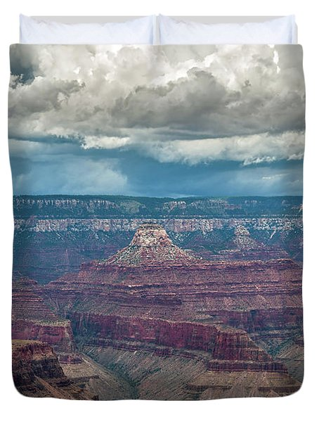 Grand Canyon Storms Duvet Cover